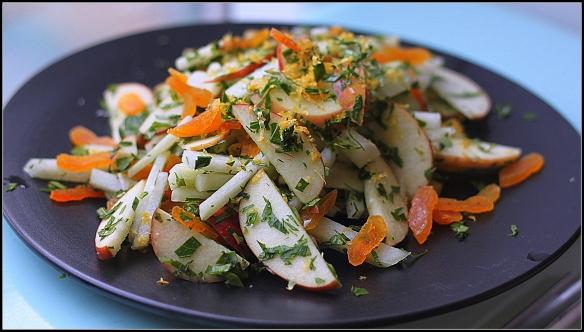glaskål salat